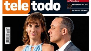 Malena Alterio y Javier Gutiérrez, en la portada de 'Teletodo'.