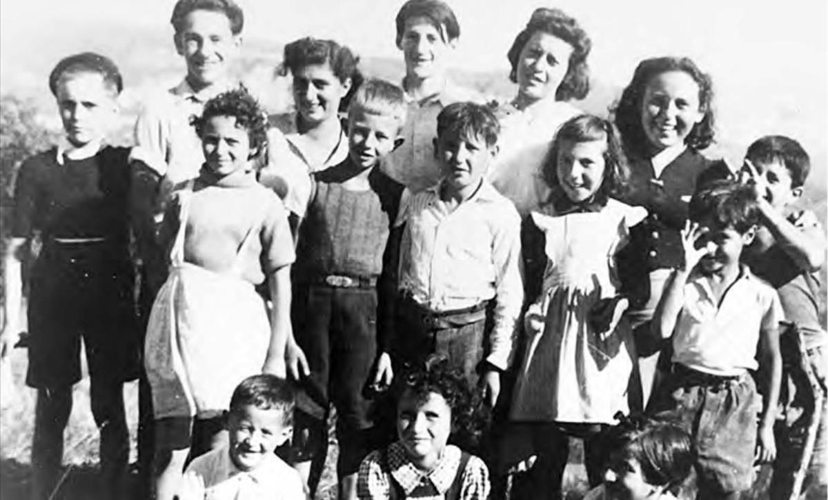 Los niños judíos del hogar infantil de la localidad francesa de Izieu, que Klaus Barbie envió a Auschwitz, donde todos murieron.