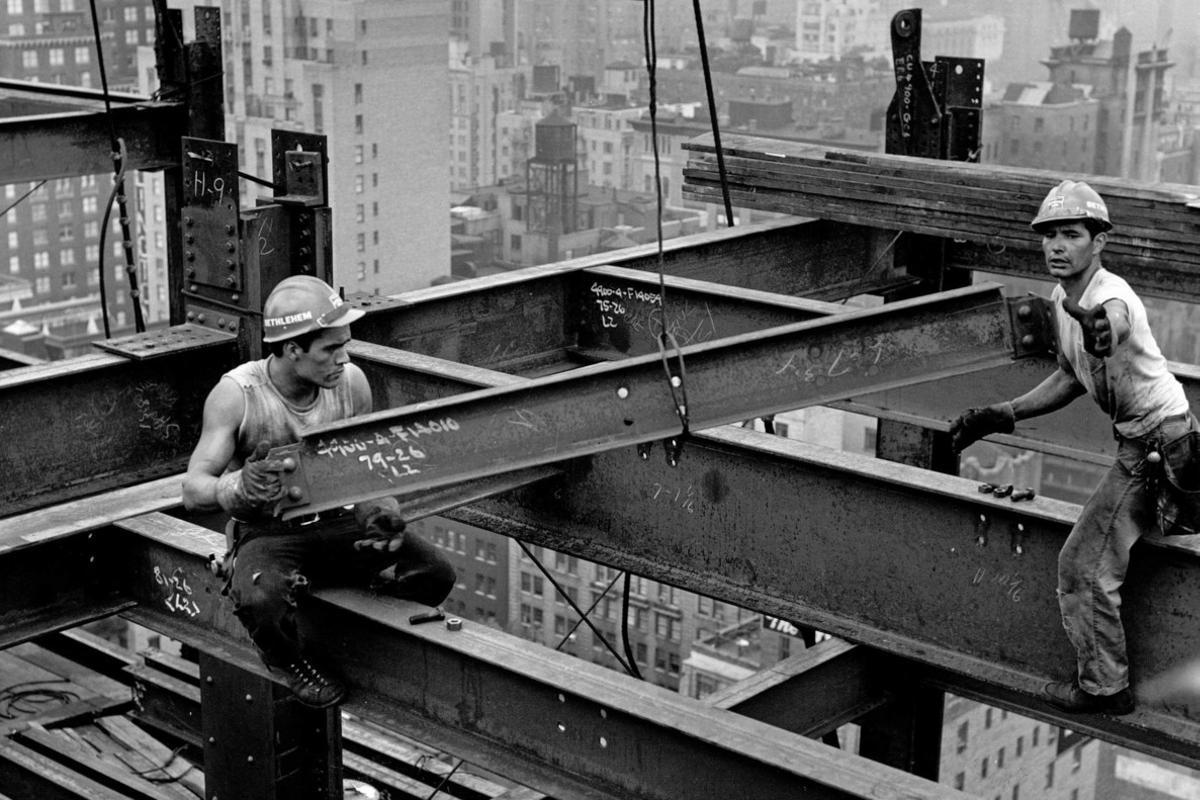 Una de las fotografías de Carles Fontserè realizada en Nueva York a finales de los años 50.