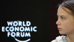 Thunberg demana a polítics i empresaris que escoltin els científics i els joves