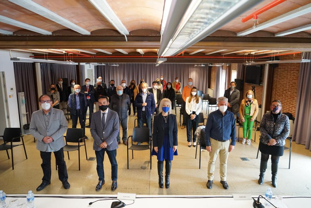 Presentada la Associación Empresarial Esplugues Innova