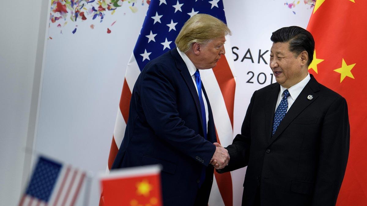 Donald Trump y Xi Jinping acuerdan reanudar las negociaciones comerciales.