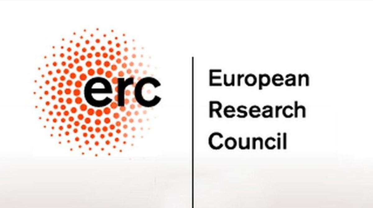 Logotipo del ERC(European Research Council).