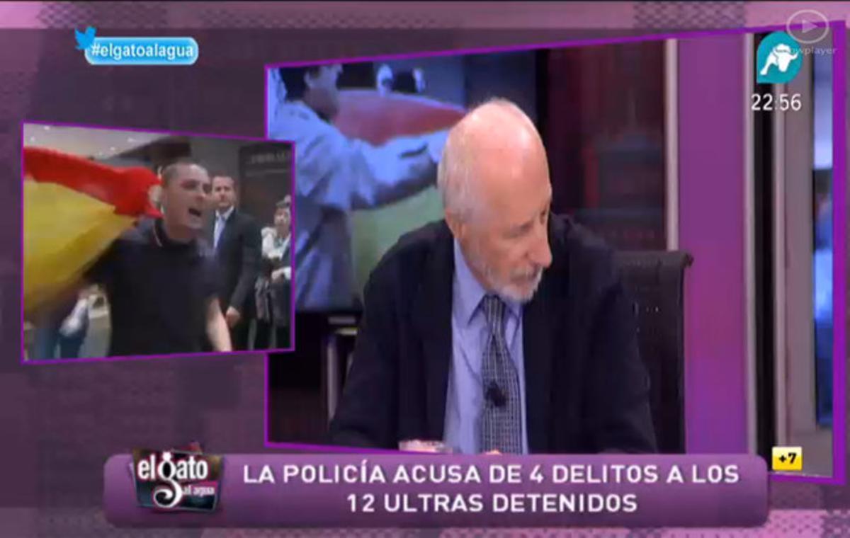 Pedro Pablo Peña, presidente de Alianza Nacional, en 'El gato al agua'.