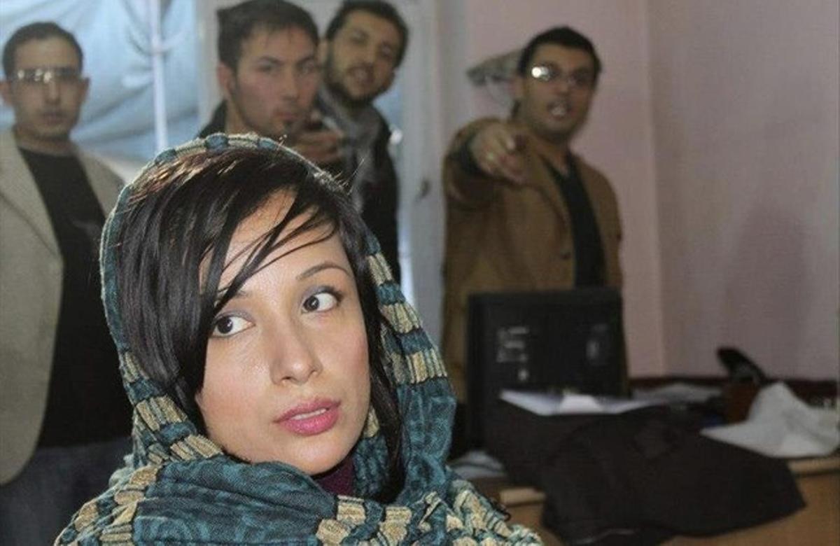 Freshta Kazemi, en la película.
