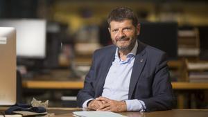Entrevista con Albert Batlle en la redacción de EL PERIÓDICO