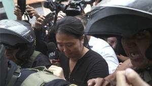 Keiko Fujimori acusada delavado de activos.