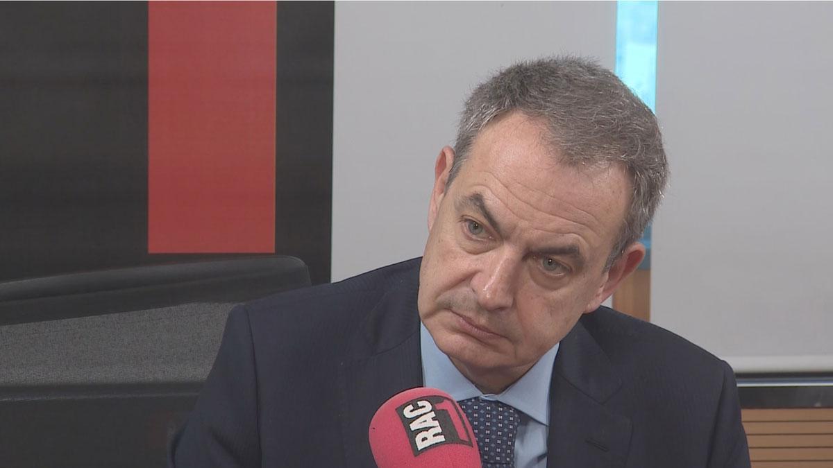 Zapatero pide una sentencia que no comprometa el diálogo y revela que habló con Junqueras.