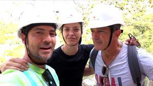 Antonio Banderas, David Bisbal y María Casado se unen para que el Caminito del Rey sea Patrimonio Mundial.