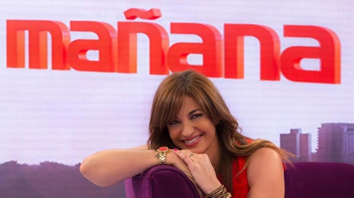 Mariló Montero. Expresentadora del magacín matinal de TVE-1 'La mañana', que ha sido multado por la CNMC