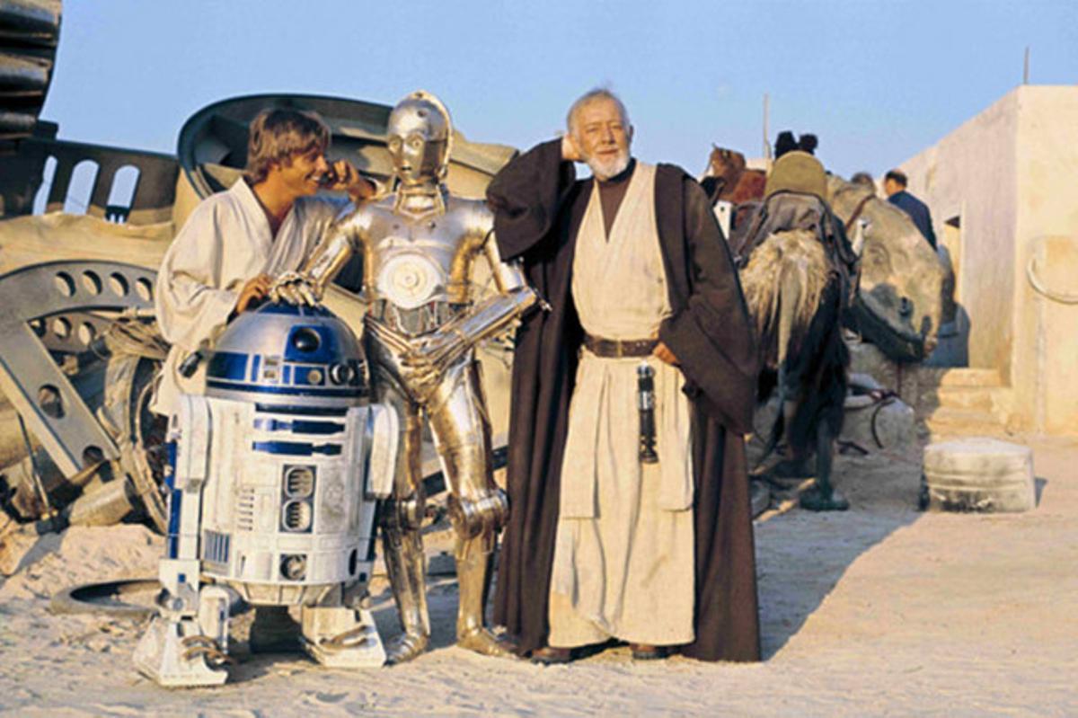 Una imagen de 'La guerra de las galaxias'.