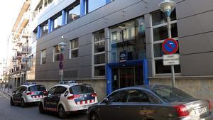 Comisaría de los Mossos en Girona, en una imagen de archivo.
