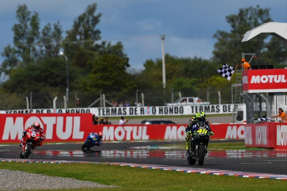 Imagen del Gran Premio de Argentina.