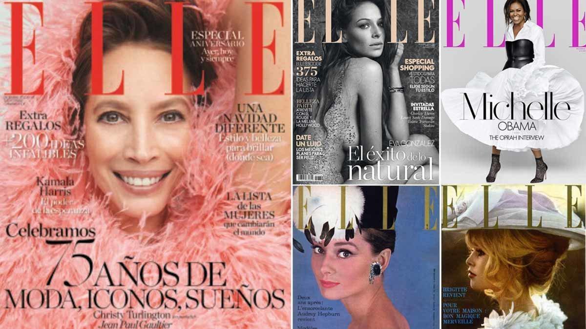 'Elle' celebra 75 años de historia con una exposición en Madrid.