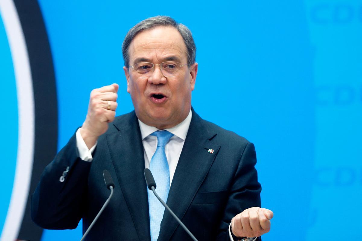 El candidato de la CDU a las elecciones federales de septiembre, Armin Laschet.