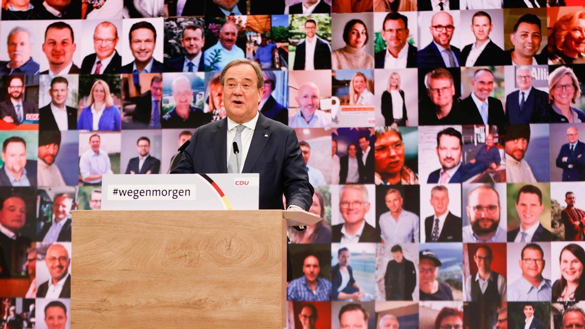 Armin Laschet, nuevo presidente de la CDU (Unión Cristinanodemócrata), el partido de Merkel
