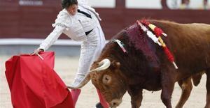 Una corrida de toros en la Feria de San Isidro.