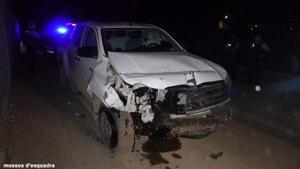 Los  Mossos d'Esquadra detienen en Lleida a un conductor bajo los efectos del alcohol y las drogas por provocar un accidenet con dos víctimas mortales