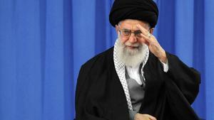 El guía supremo de Irán, el ayatolá Alí Jamenei, el principal dirigente del régimen de Teherán.