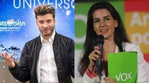 """Blas Cantó responde a Rocío Monasterio (Vox): """"Lávese la boca para hablar de Eurovisión"""""""