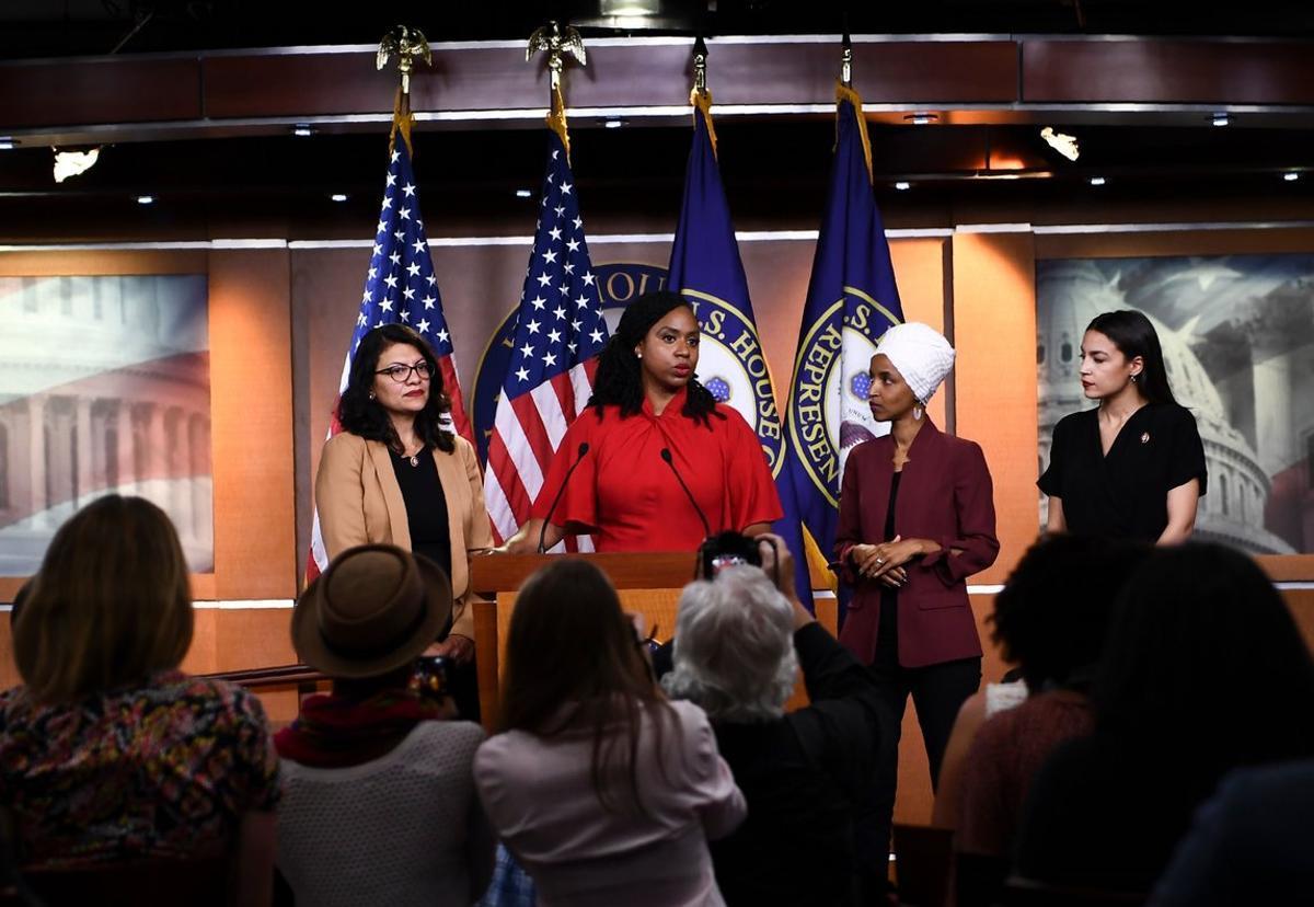 Las congresistas a las que Donald Trump le ha dicho que se vayan de los EEUU.