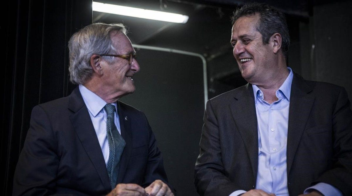 Xavier Trias y Joaquim Forn.