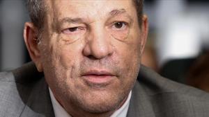 Harvey Weinstein, en el juzgado de Nueva York