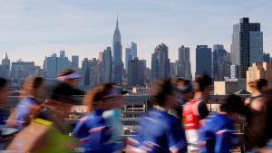 Una imagen del maratón de Nueva York, en la edición del 2018.
