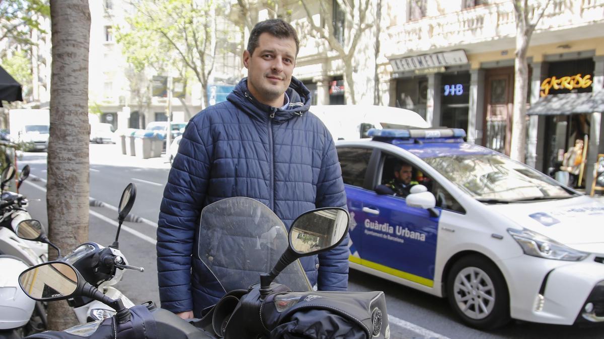 Vicenç Flores, el expolicía municipal de Barcelona que ha ganado la batalla al Ayuntamiento de Barcelona.