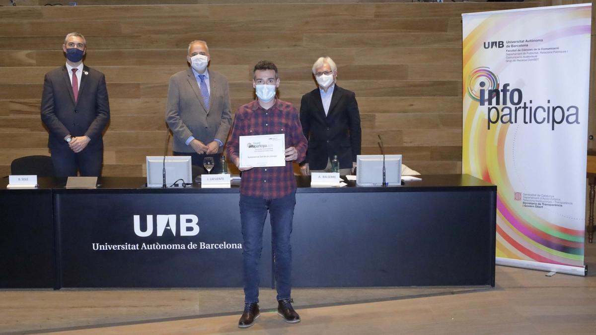 Sant Boi obtiene el sello Infoparticipa de la UAB