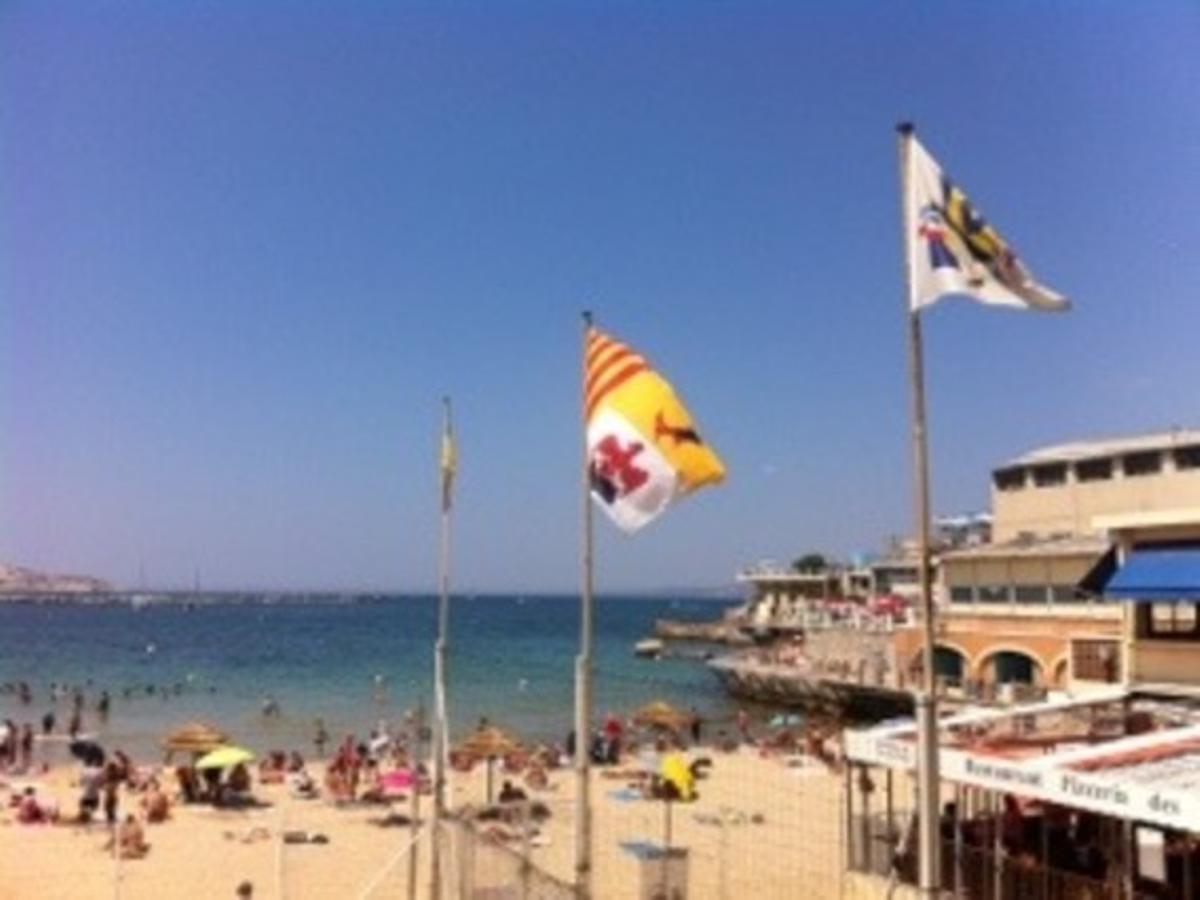 L'Anse des Catalans a Marseille
