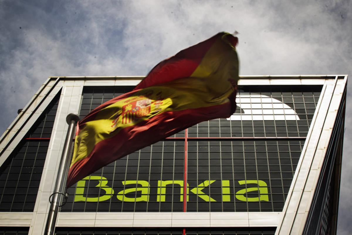 Sede de Bankia en Madrid.