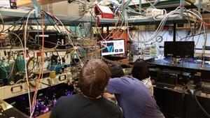 Imagen del laboratorio de auto-torque de la Universidad de Colorado.