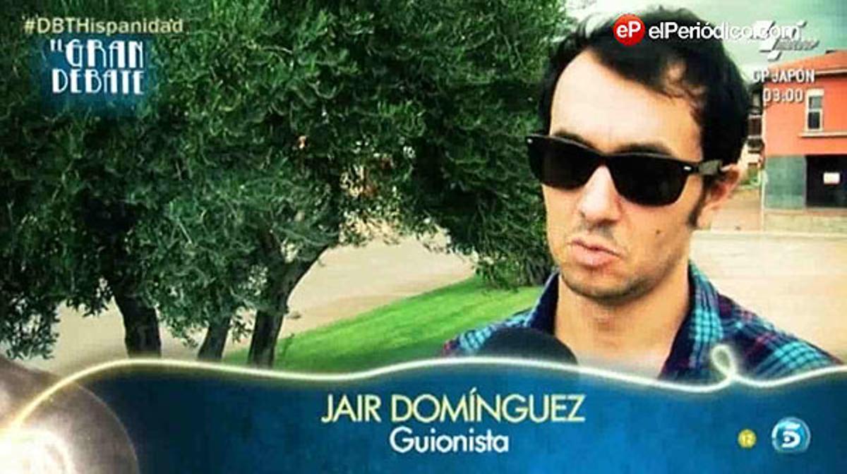 Jair Domínguez, entrevistado en 'El gran debate'.