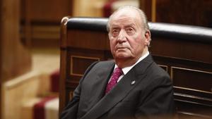 01 01 1970 Foto de archivo del rey emerito don Juan Carlos I en el acto conmemorativo del 40  aniversario de la Constitucion de 1978  en el Congreso (Madrid Espana) a 6 de diciembre de 2018   EUROPA ESPANA POLITICA  EDUARDO PARRA   EUROPA PRESS