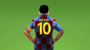 Ilustración de Leo Messi
