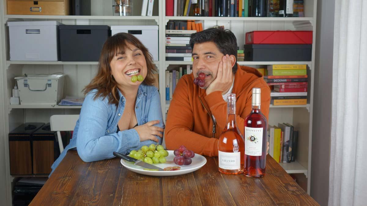En tu salón. Cómo dar color al vino con Judith Cortina y David Jobé, de Enoturistas