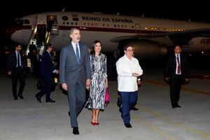 Llegada de los reyes a Cuba.