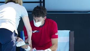 Carreño s'acomiada lesionat i Muguruza va llançada a Austràlia