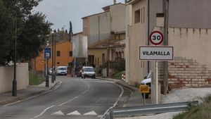 Entrada al pueblo de Vilamalla