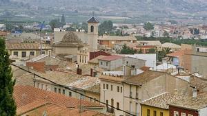 Imagen de archivo del casco urbano de Llanera de Ranes.