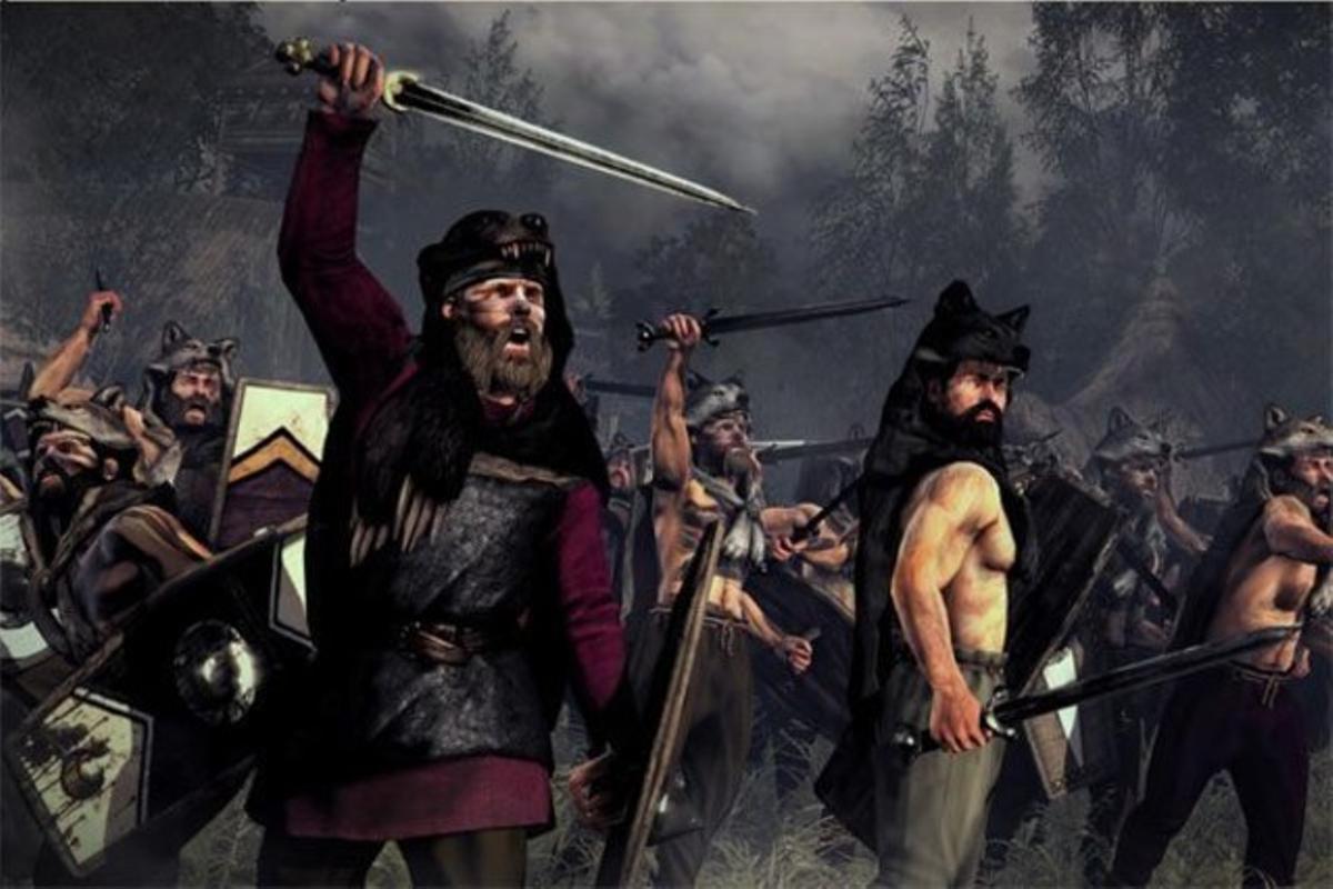 Guerreros bárbaros, una de las ilustraciones del 'blog' de Daryush Valizadeh.