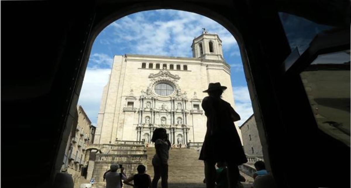 La catedral de Girona, uno de los escenarios de la serie.
