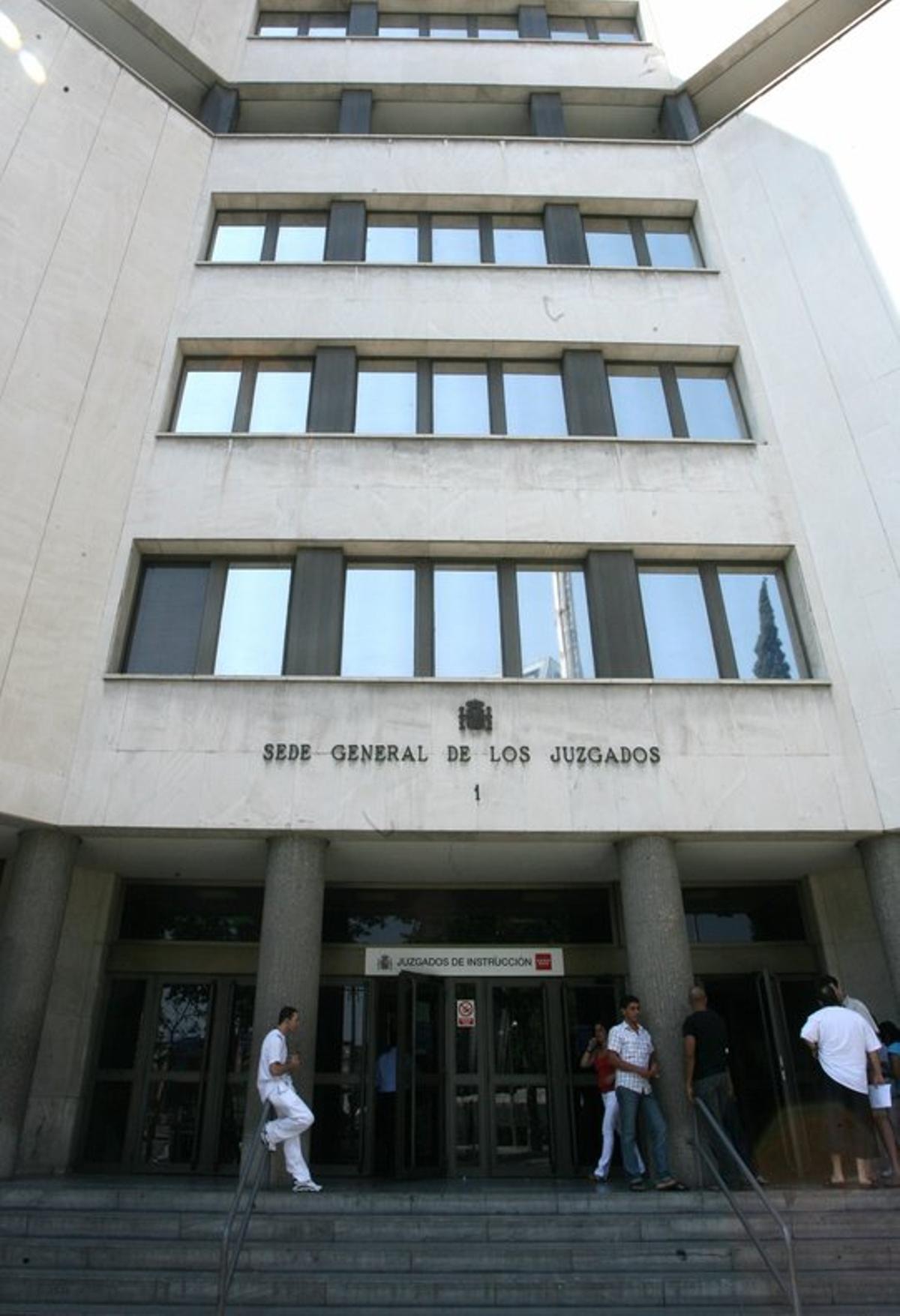 Sede General de los Juzgados de Madrid (Juzgados de Plaza de Castilla).