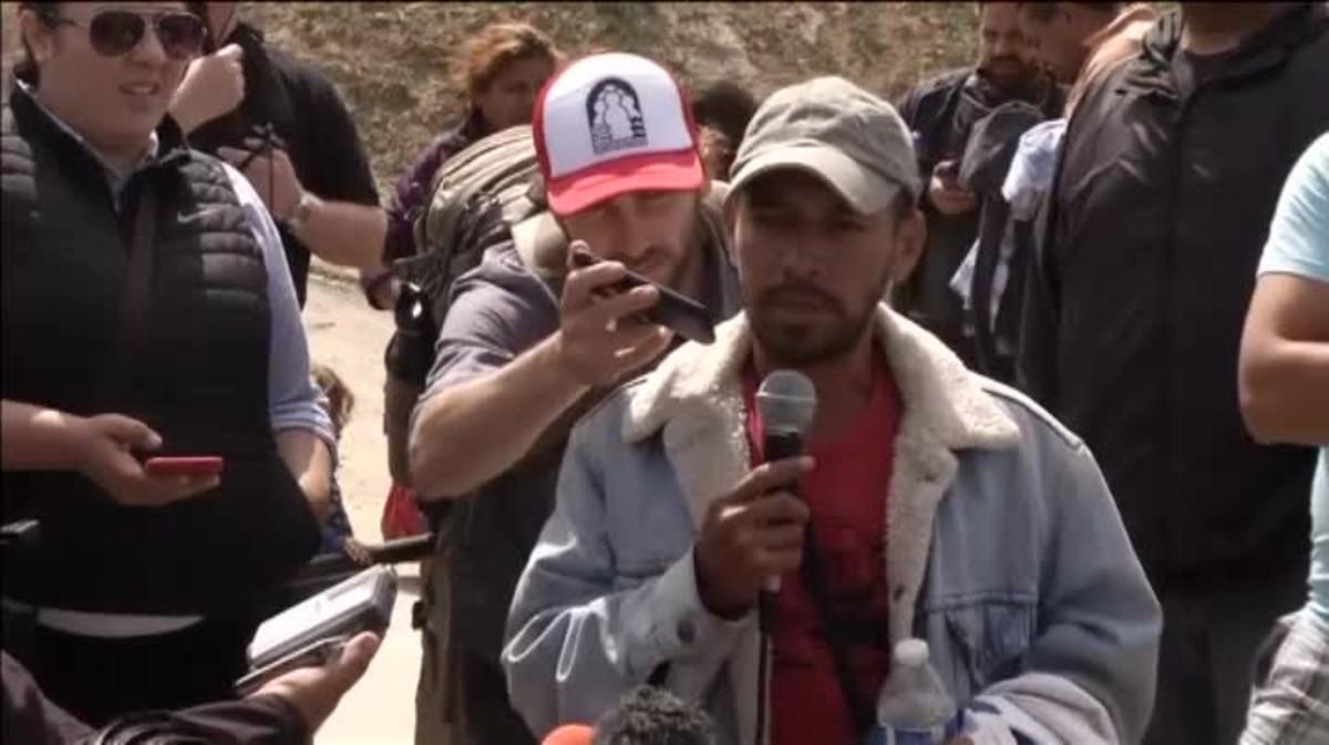 Se trata de casi 400 personas que buscan pedir el régimen de asilo en el país norteamericano.
