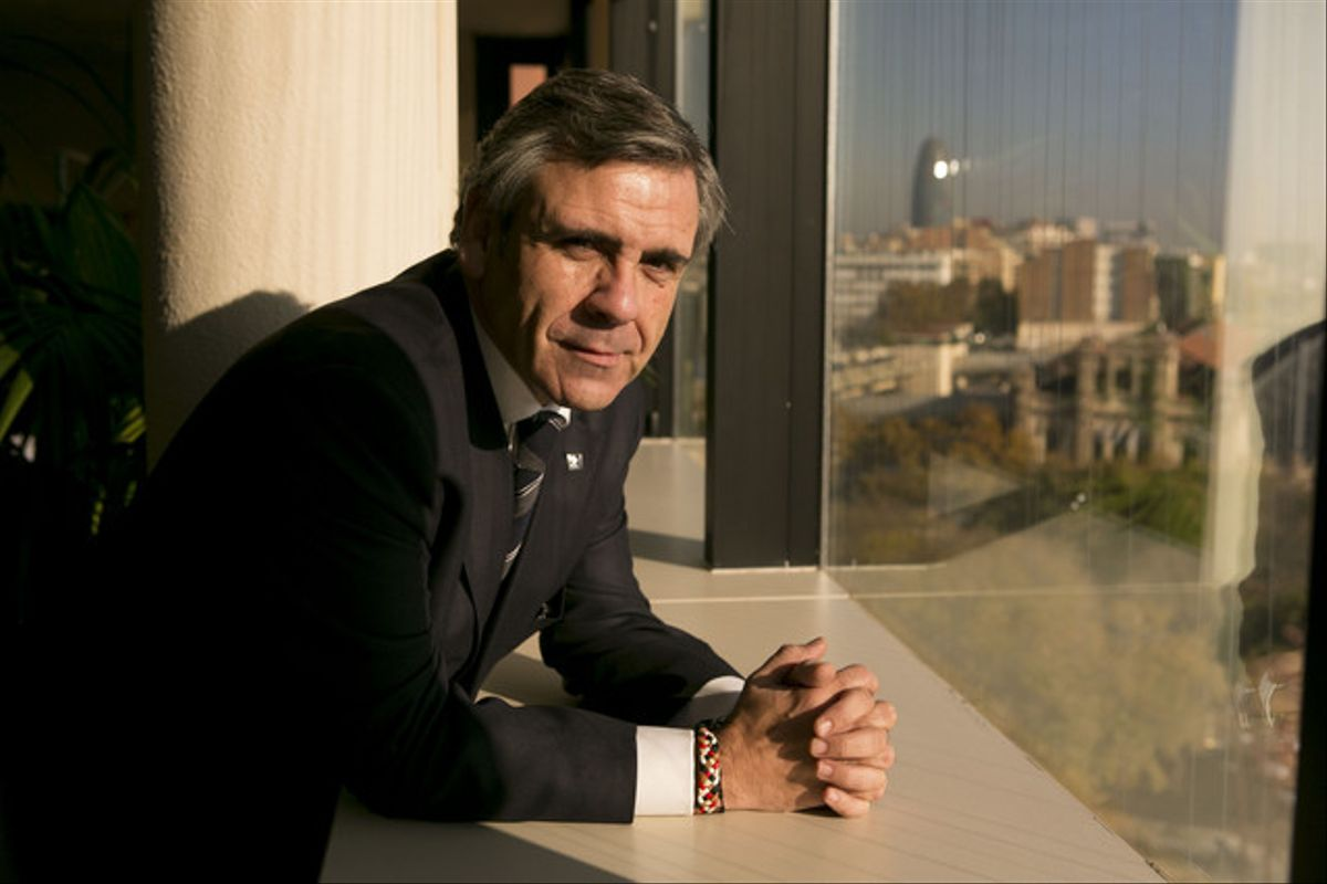 Daniel de Alfonso, el director de la Oficina Antifrau de Catalunya, en Barcelona.
