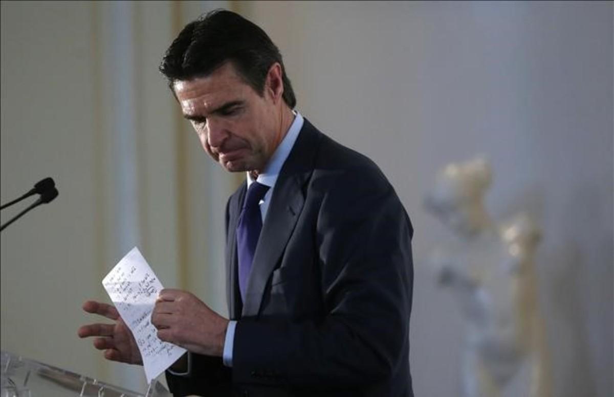 El exministro de Industria José Manuel Soria.