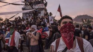 Protestas sociales en Chile.