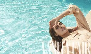 Rachel Valdés, novia de Alejandro Sanz, se sincera en 'Vanity Fair'.