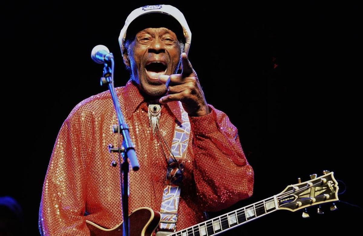Así suena 'Big Boys', el primer 'single' del disco póstumo de Chuck Berry